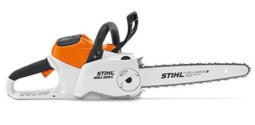 équipement à émondage - scie à chaine - STIHL - MSA200CBQ - D mini moteurs