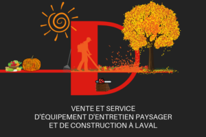 D mini moteurs - vente et service - équipement entretien paysager et de construction - Chomedey - Laval