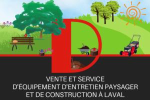 Été - D mini moteurs - Équipement d'entretien paysager et de construction à Laval