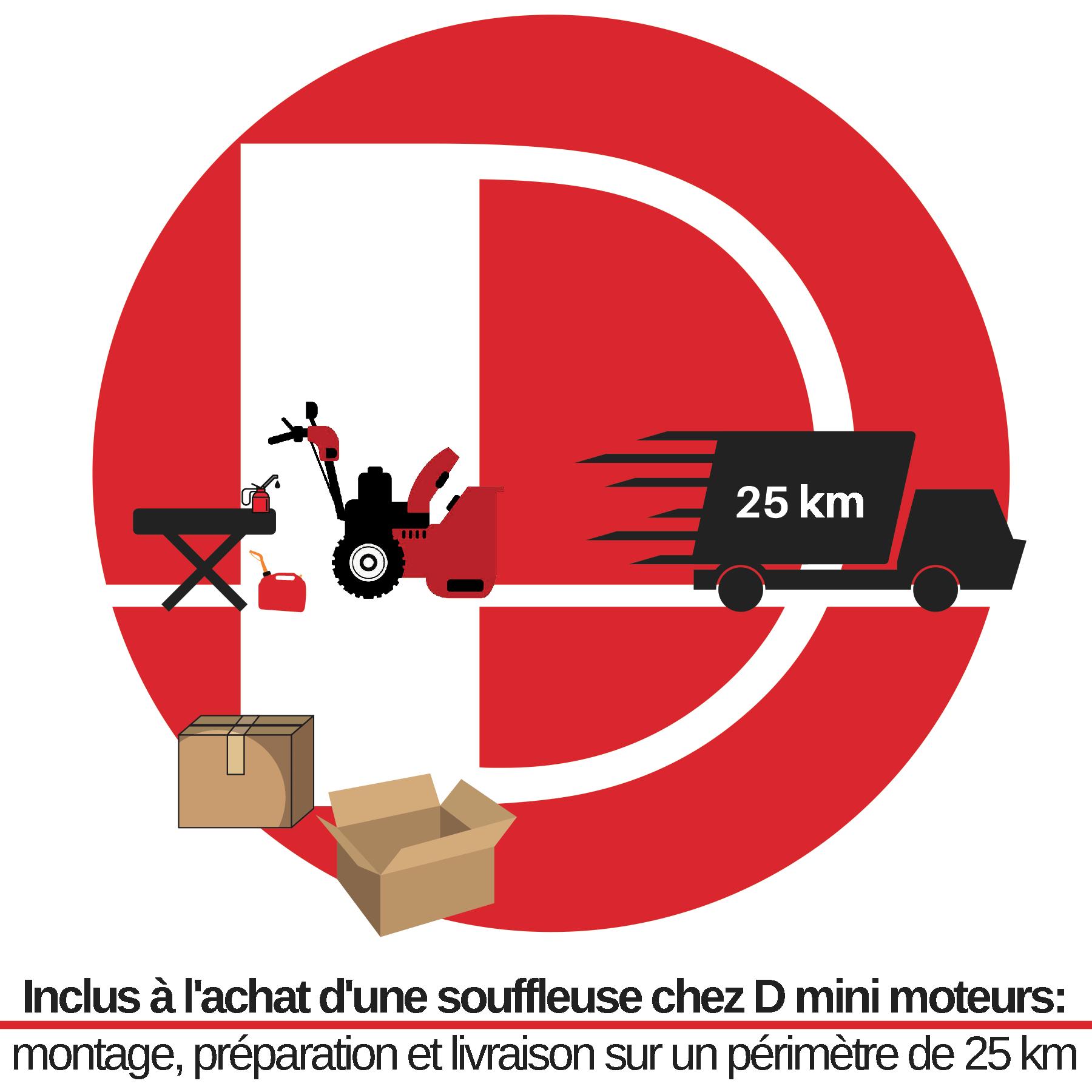 Avec achat souffleuse neuve - D mini moteurs - Laval