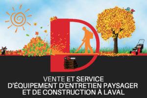 Automne - D mini moteurs - Équipement d'entretien paysager et de construction à Laval